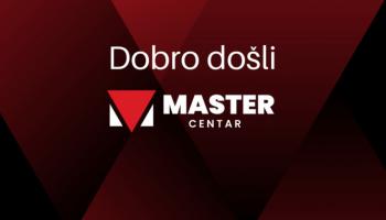 Dobro došli na novu web stranicu Master centra